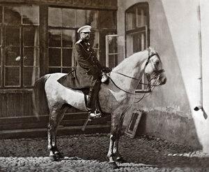 Великият княз Николай Николаевич в град Търново, след превземането на града, 30 юни 1877 г.