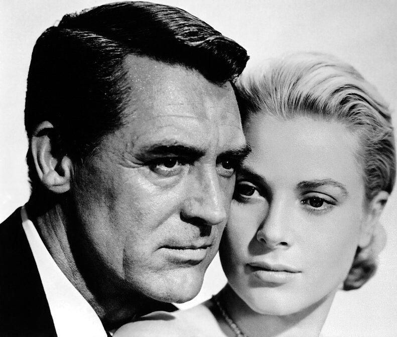Кэри Грант и Грейс Келли (Поймать вора, 1955)
