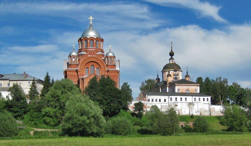 Панорама Покровского Хотькова монастыря