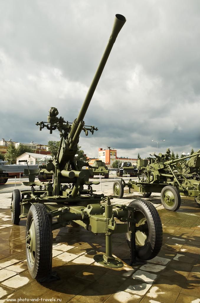 6. Музей военной техники в Пышме. Еще одно орудие
