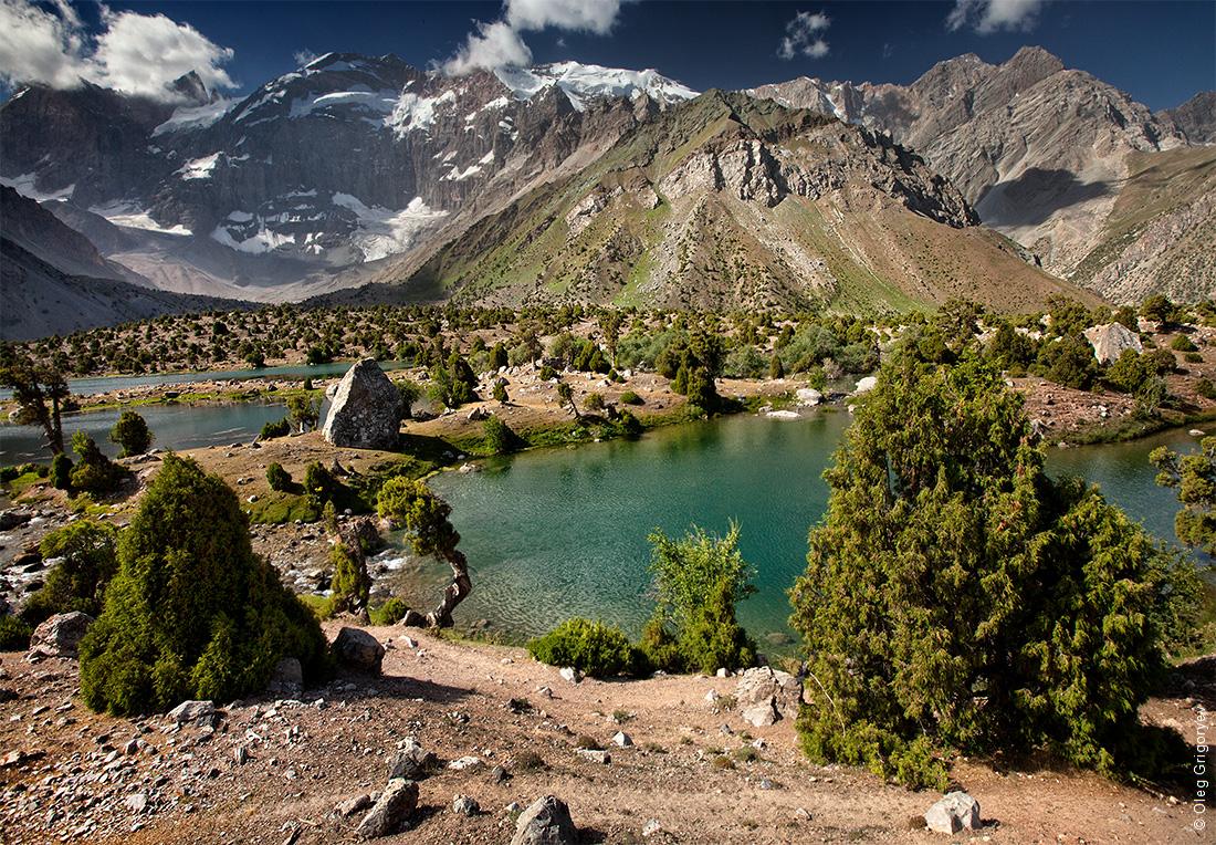 Фанские горы Таджикистан