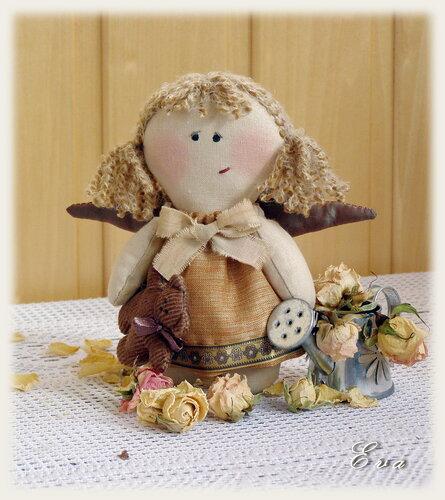 Осенний ангелочек...