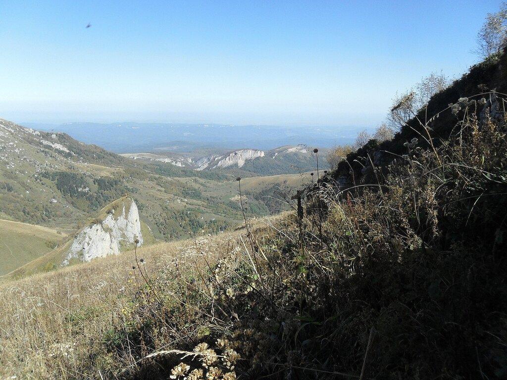 Большой Тхач, Адыгея, Кавказ, сентябрь 2012, туризм