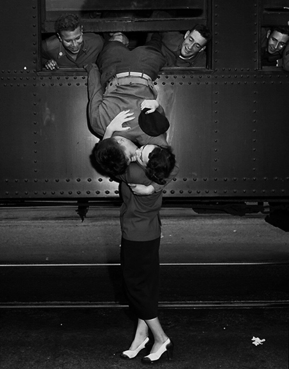 1950. Прощальный поцелуй