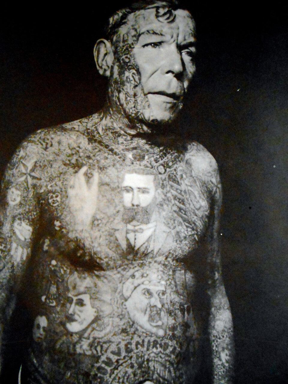 1950. На конкурсе тату. Рикардо