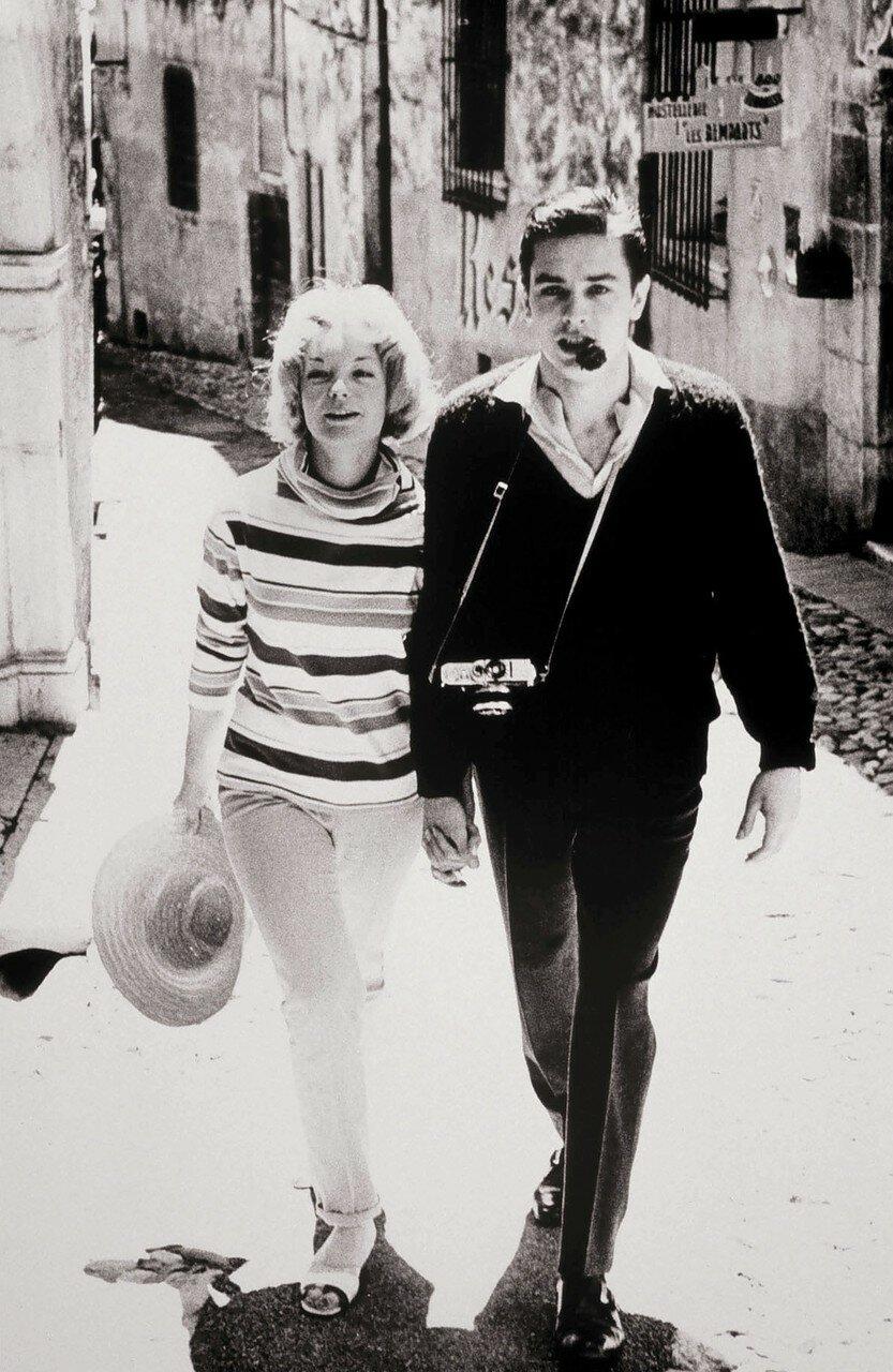 1959. В Каннах с Роми