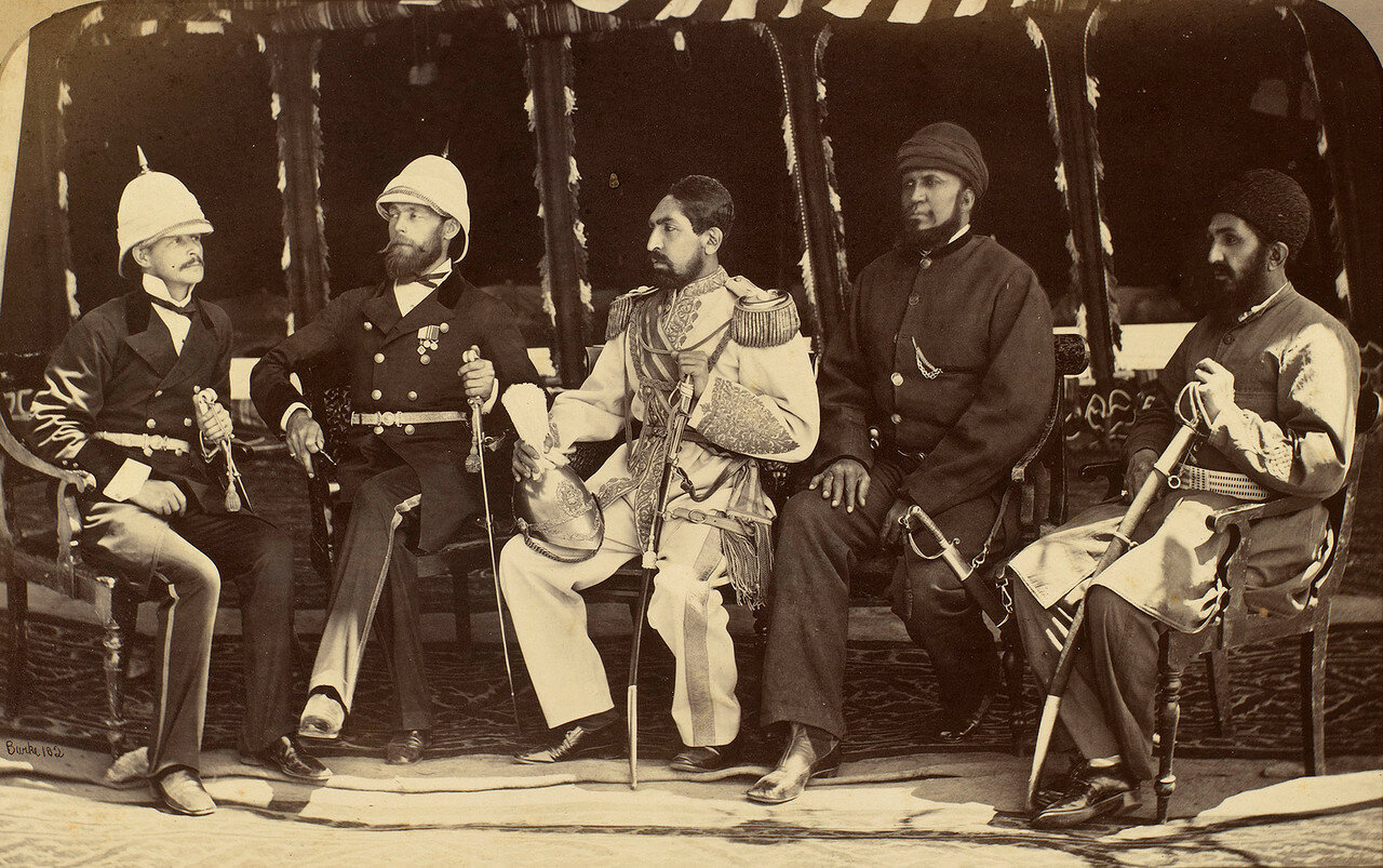 Ключевых фигуры подписавшие гандамакский договор
