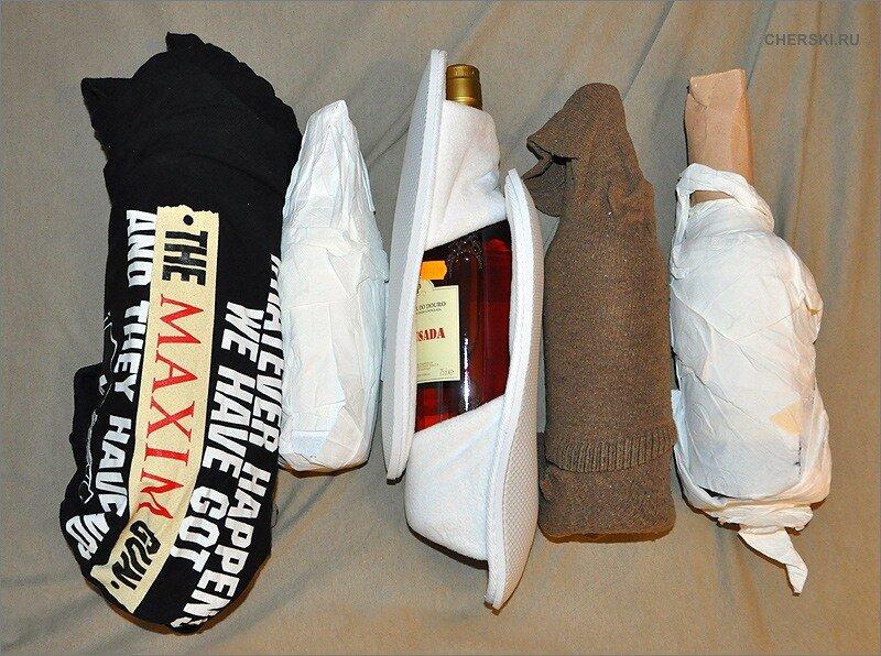 Конечно, я слышал про специальные чемоданы для перевозки вина.