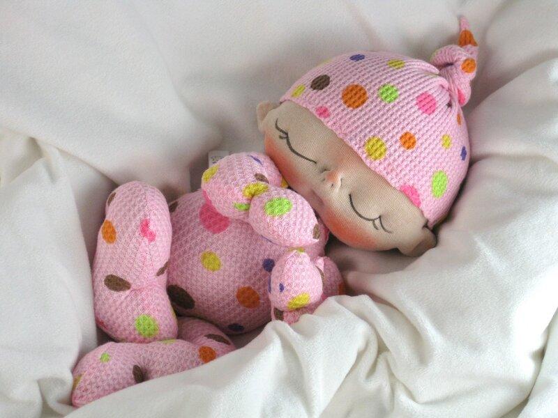 Текстильный младенец своими руками