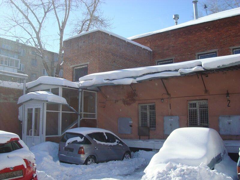 Юго-западный угол комплекса зданий