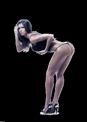 Секси девушка из мультфильма