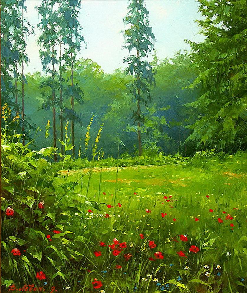 В люксембургском лесу в тиши аллей