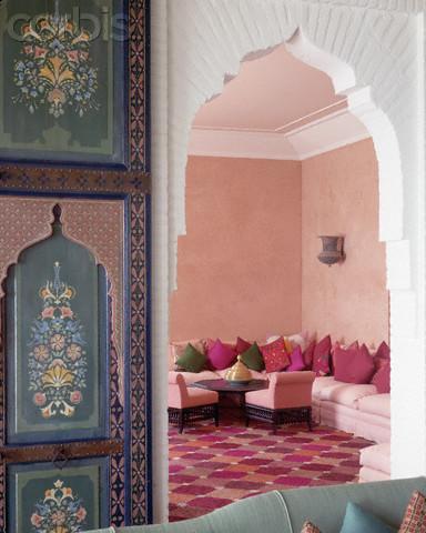 Doorway to Sitting Room in Home of Aicha Benhima