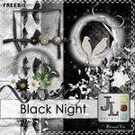 чёрная ночь