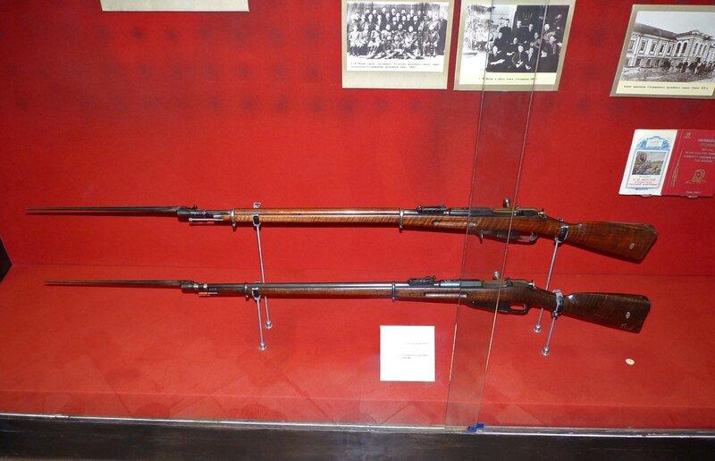 Лин пехотная винтовка обр 1891г