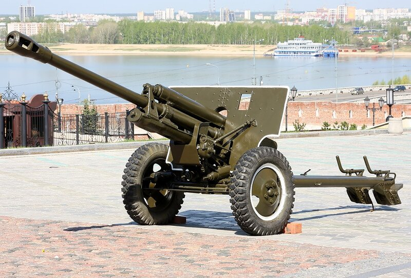 ЗИС-3 76-мм дивизионная пушка