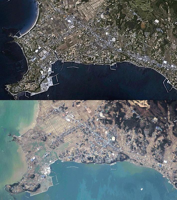 South coast of Kesennuma