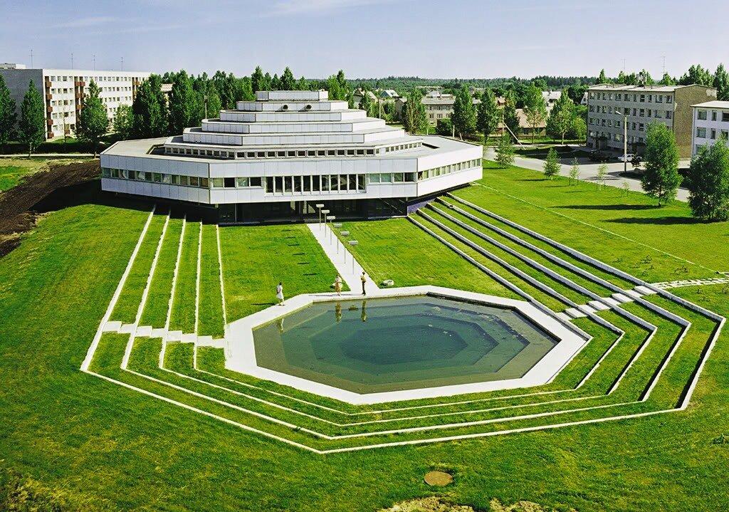 Административное здание, Рапла, Эстония 1977