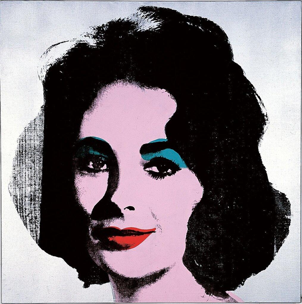 Silver Liz (1963), Warhola