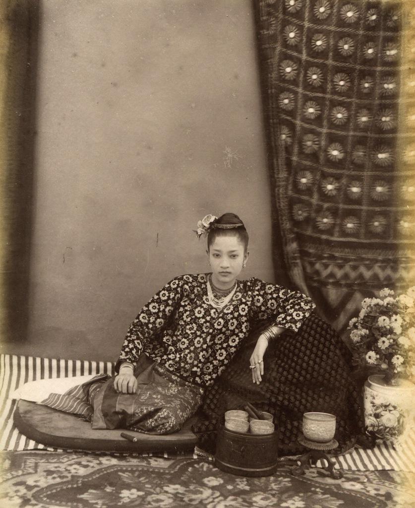 Portrait of a Young Burmese Woman, circa 1875 Felice Beato (1832-1909).jpg