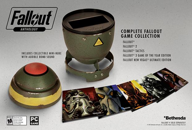 Антология Fallout примет вид муляжа бомбочки