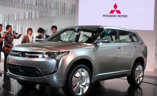 Новый автомобиль Mitsubishi Outlander – мечты сбываются