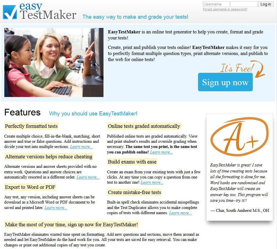Easy Test Maker - badanov-web2