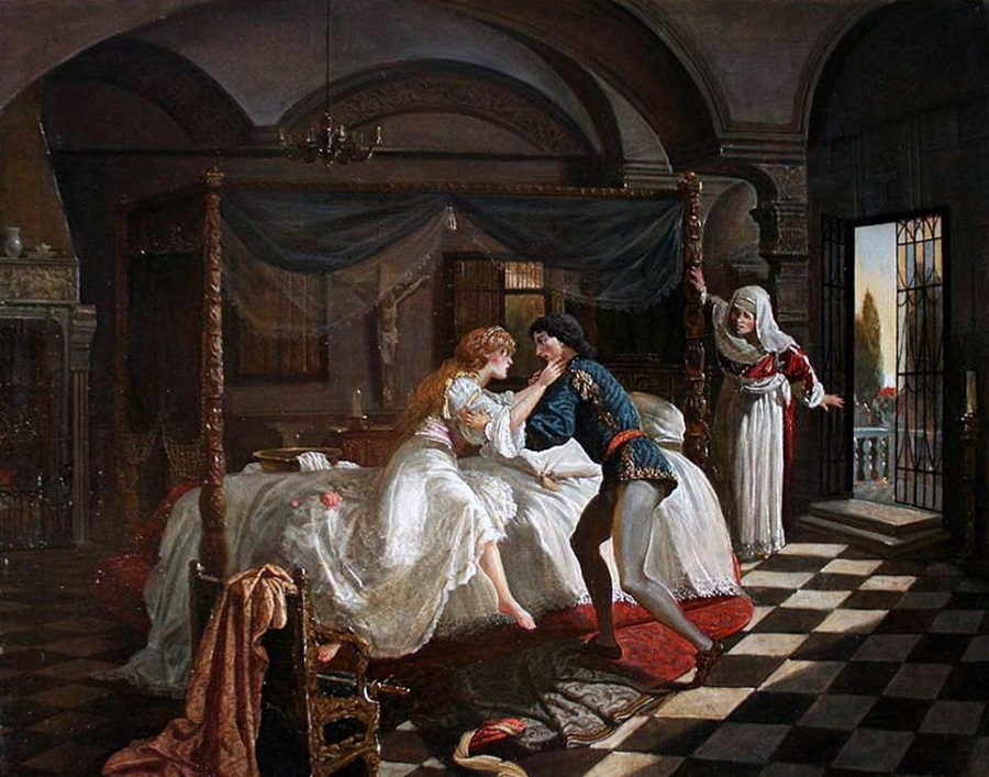 an analysis of the themes of passion and violence in romeo and juliet by william shakespeare