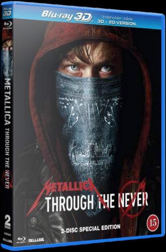 Metallica: Сквозь невозможное / Metallica: Through the Never (Нимрод Антал / Nimrod Antal) [2013, США, Thrash Metal, BDRip 720p]