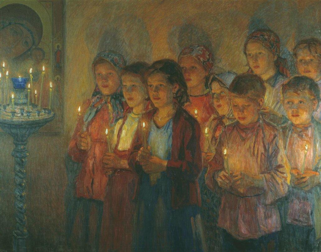 0236.Bogdanov-Bel'skiiy.Nikolaiy.V.cerkvi.holst.maslo.jpg