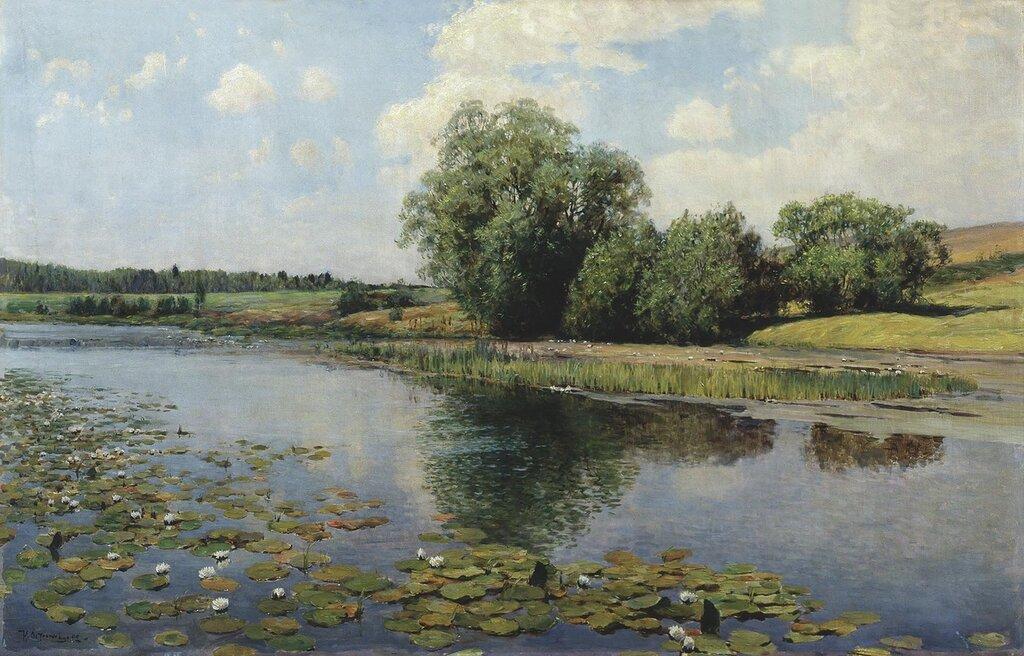 0783.Ostrouhov.Il'ia.Rechka.v.polden'.1892.holst.maslo.jpg