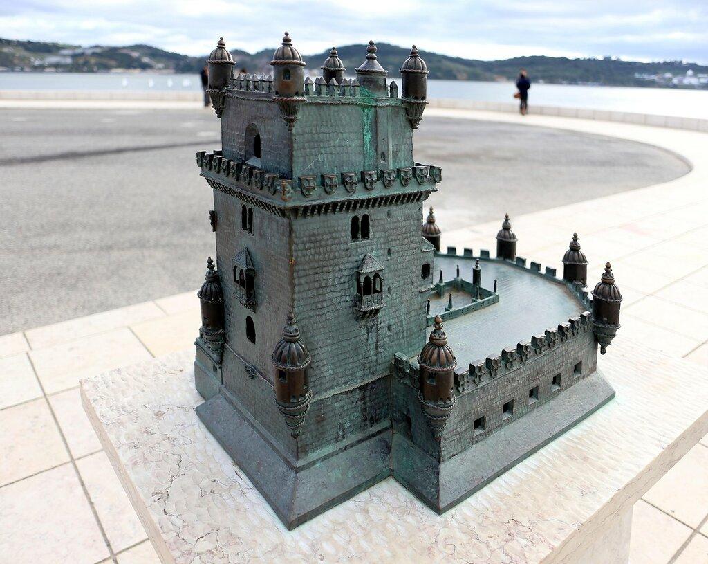Lisbon. Belém tower, (Torre de Belém. Bethlehem tower)