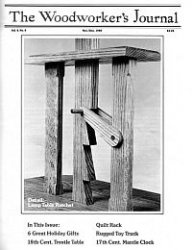 Журнал Woodworker's Journal November-December 1980