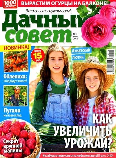 Журнал: Дачный совет №11 [Россия] (июнь 2015)