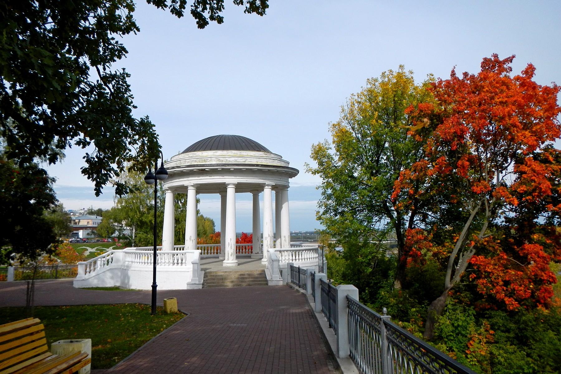 Картинка парка осеннего