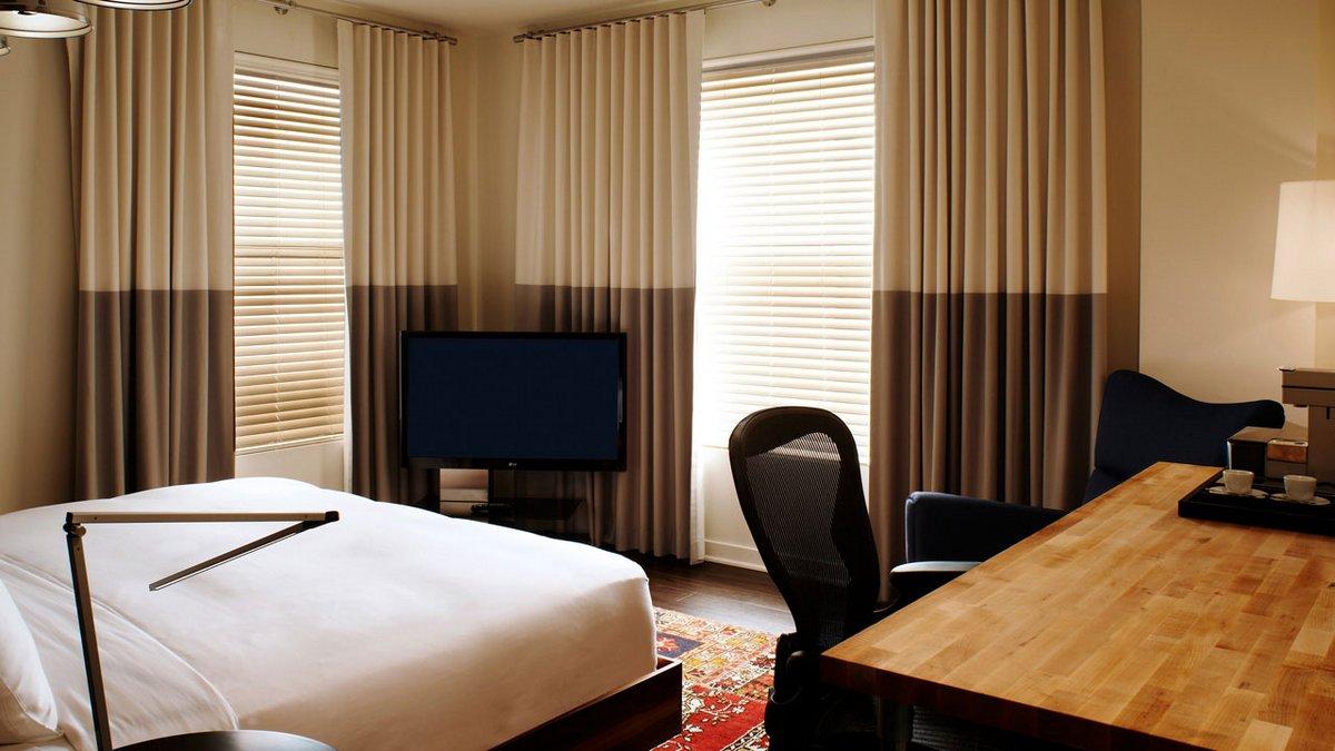 Zetta San Francisco, отели в Сан-Франциско, отели на SoMa, отели на South Market, лучшие отели мира, обзор отеля, красивые номера в отеле фото