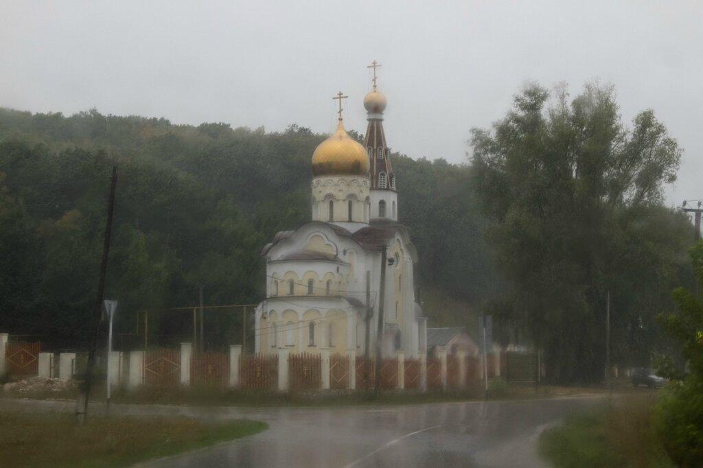 Церковь в Солнечной поляне, Жигулевские горы