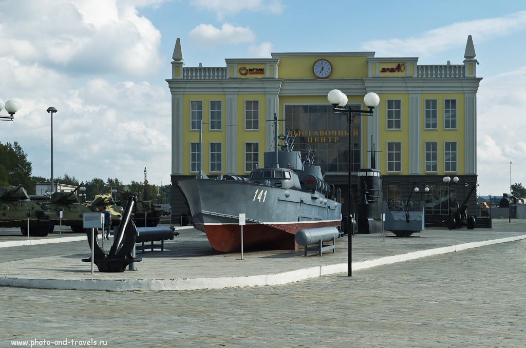 """28. В музее военной технике в Верхней Пышме есть и корабли тоже, и """"подводная лодка"""""""