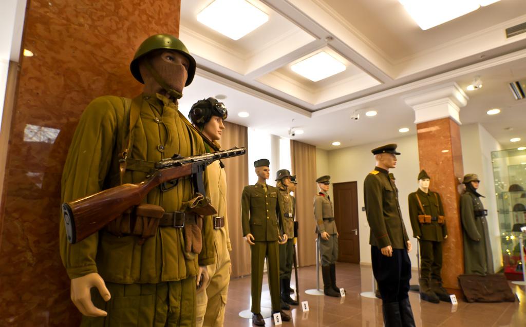 16. Военный музей в Пышме. Бойцы