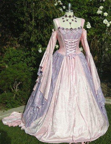 платье средневековая сшить выкройки