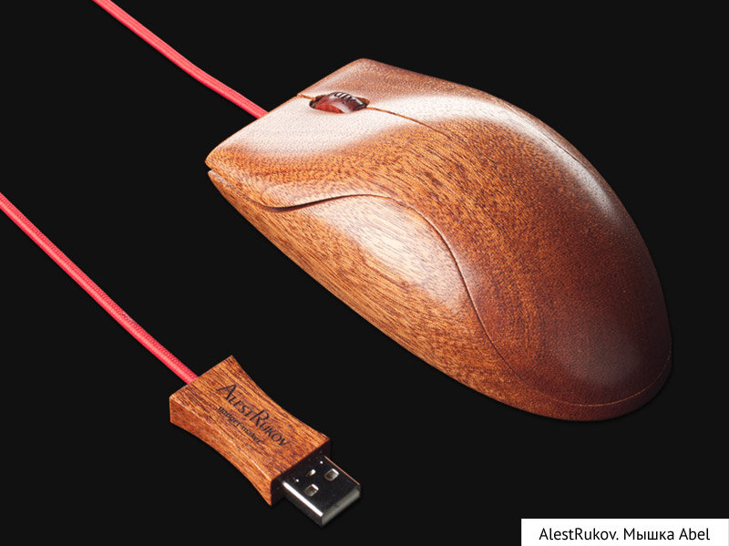 Как делают деревянные мышки
