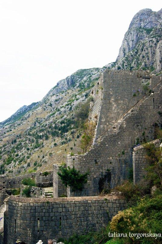 Стены Малой крепости
