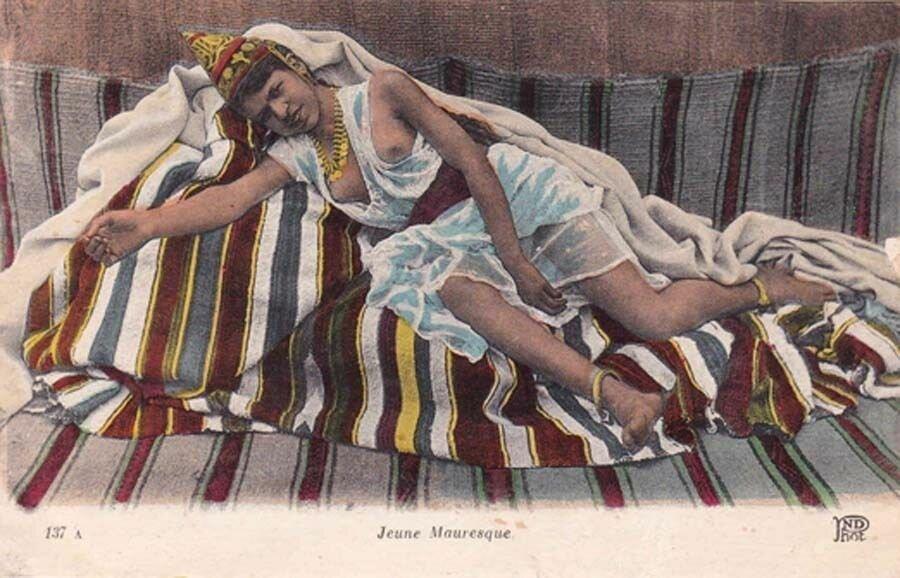 Молодая мавританка