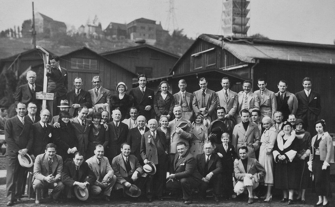 1932. Актеры студии Юниверсал