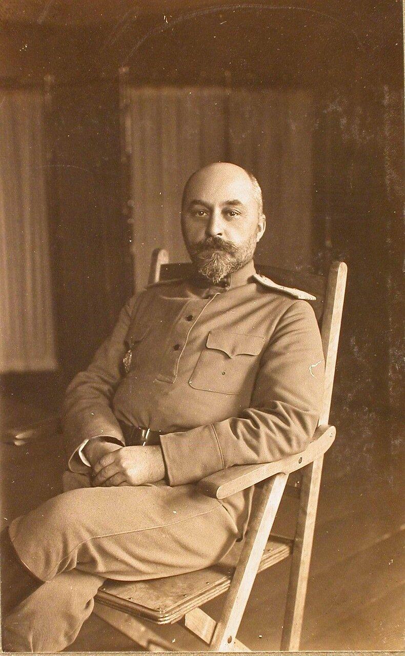 22. Генерал-квартирмейстер Генерального штаба генерал-майор Соковнин.Ковель. 1915
