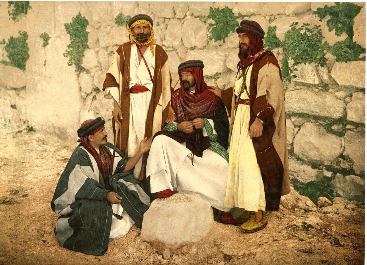 Мужчины из окрестностей Силоама
