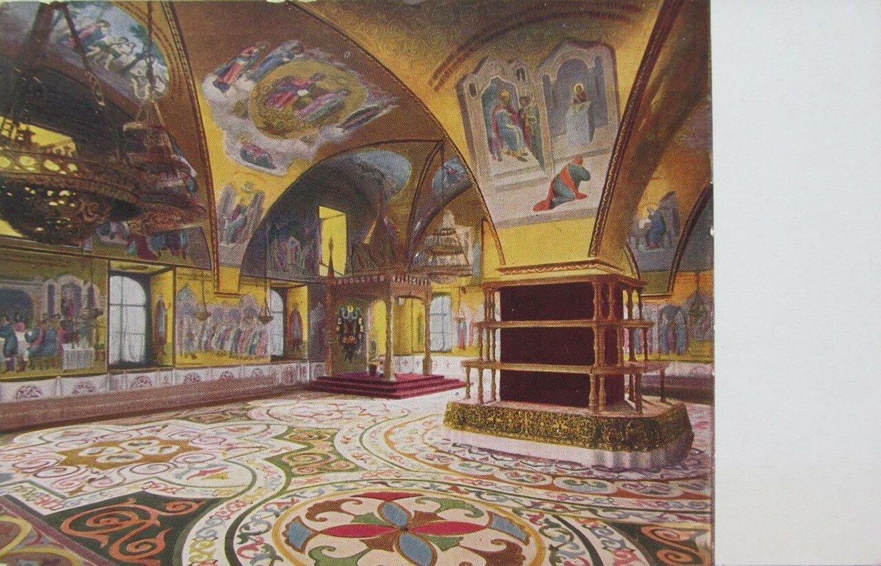 Кремль. Грановитая палата в Теремном дворце