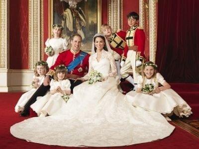 Свадьба принца Уильяма и Кейт Миддлтон состоялась