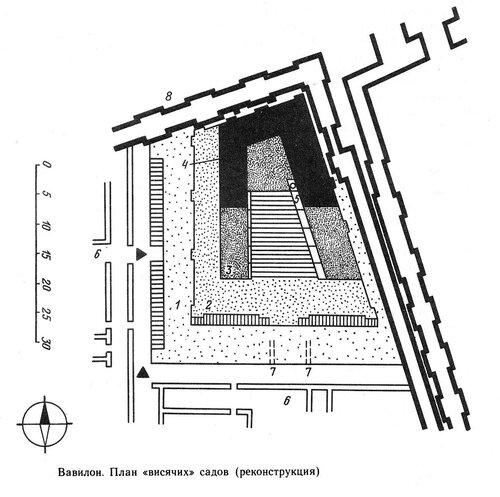 Висячие сады Семирамиды (реконструкция)