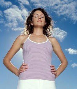 Как нужно дышать, чтобы похудеть?